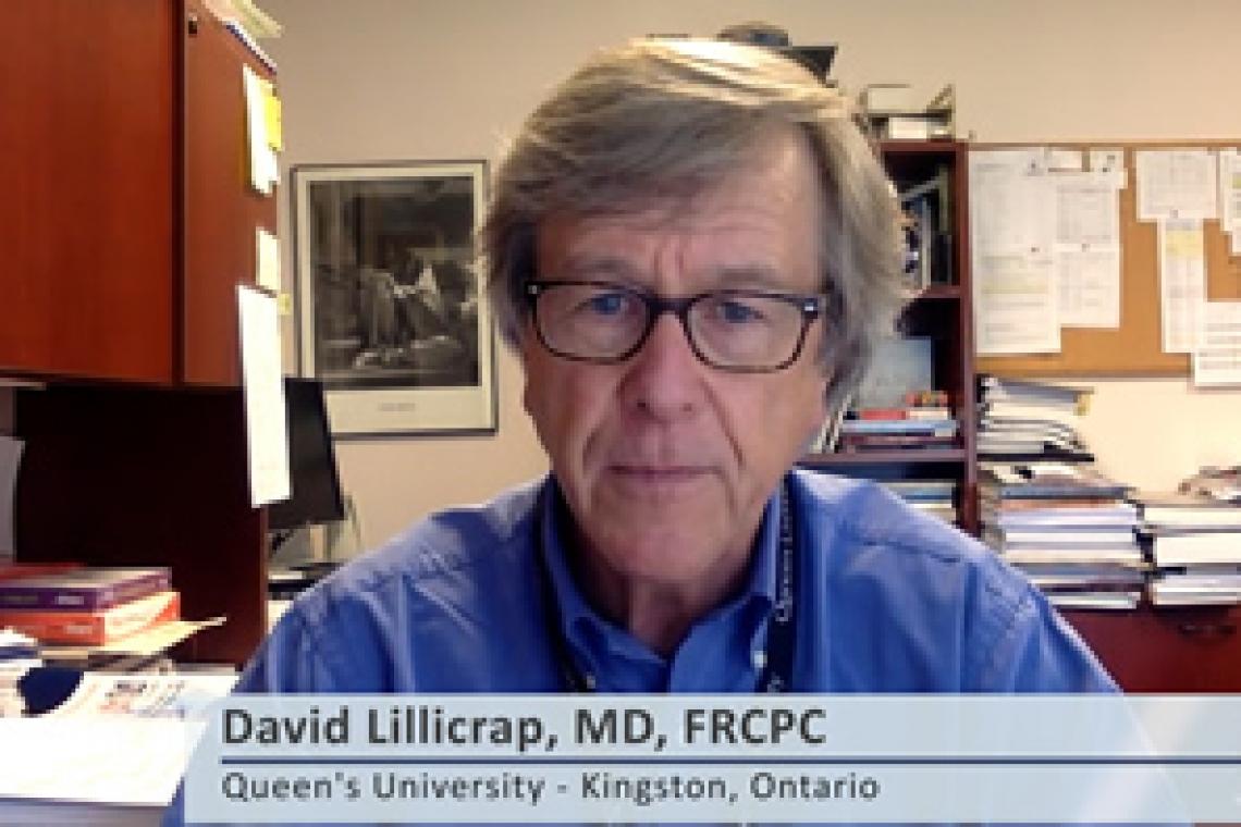 David Lilicrap, MD, FRCPC
